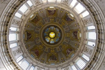dome, interior, architecture, ceiling, art, interior, decoration, roof