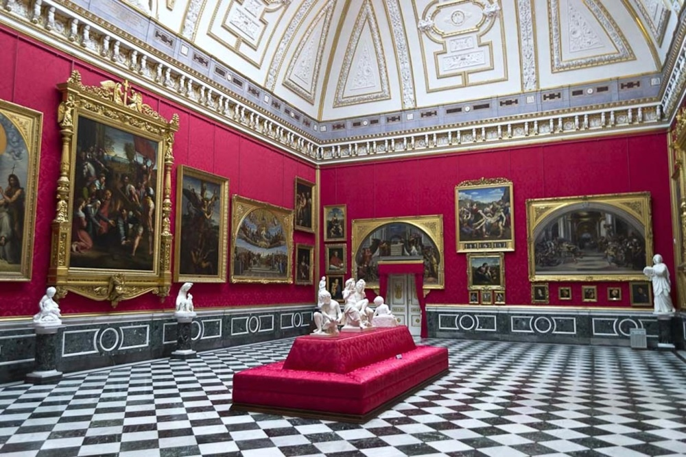 architecture, luxury, museum, interior, art, decoration