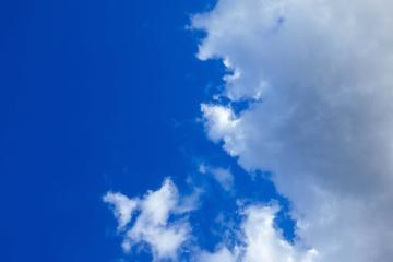 priroda, nebo, ljetne, visoke, sunca, neba, atmosferom, meteorologija
