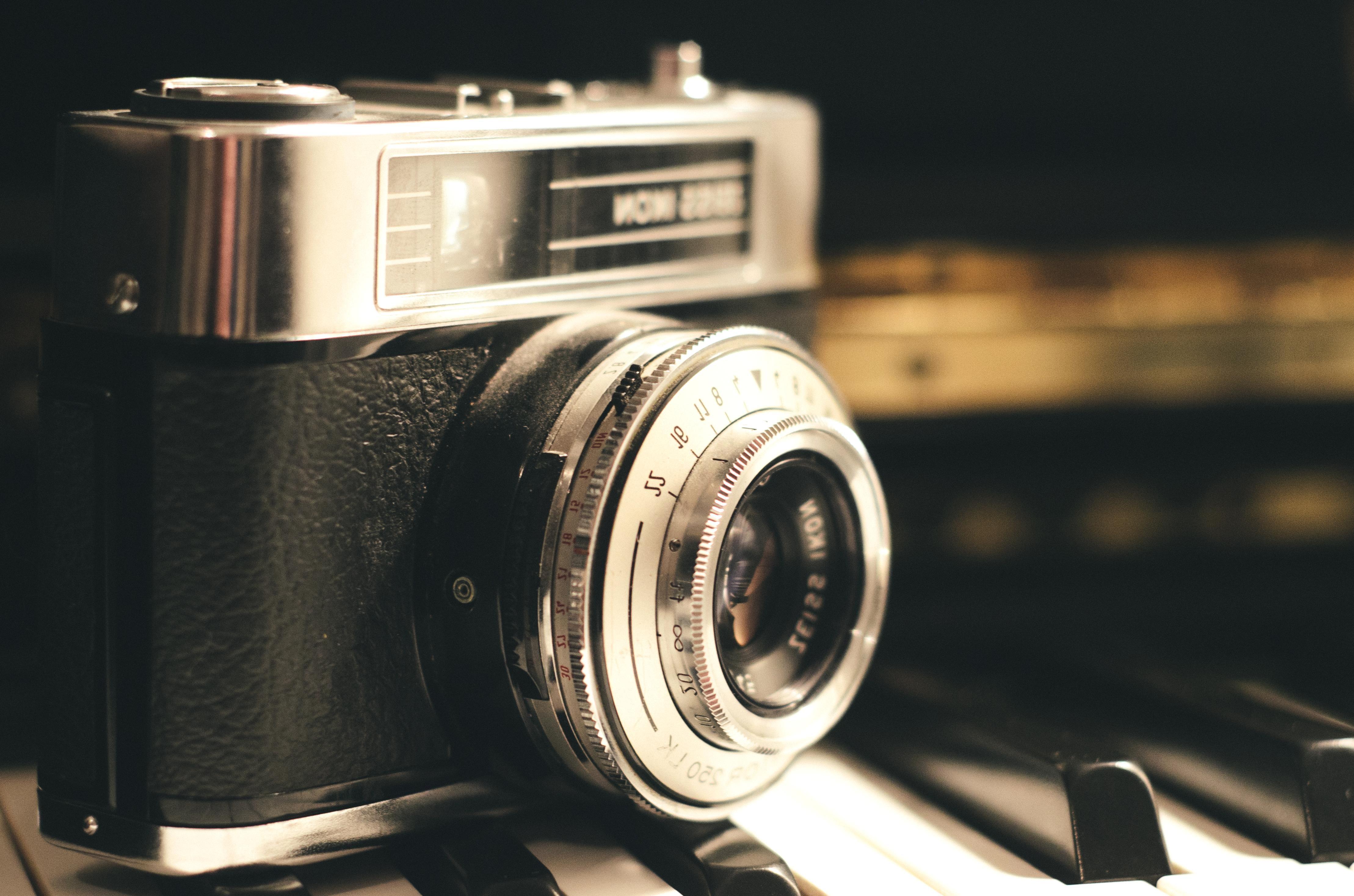 Новым годом, ретро картинки с фотоаппаратом