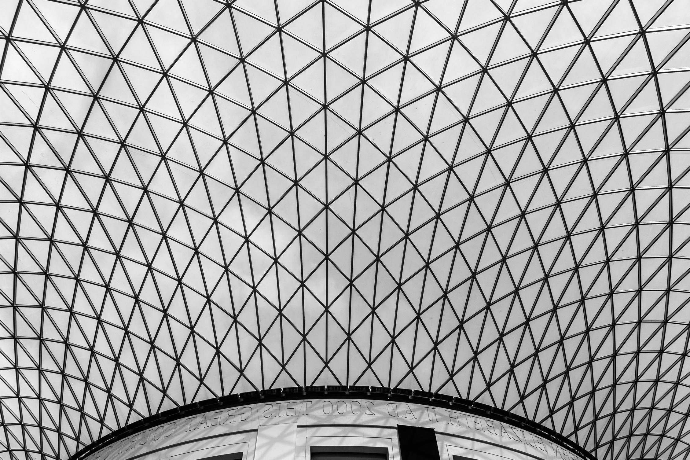 free picture geometric futuristic architecture modern steel
