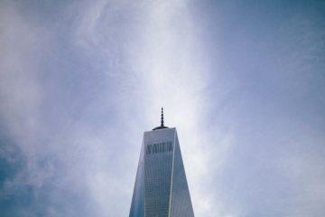 himmelen, arkitektur, tårn, eksteriør, bygge, blå himmel, sentrum
