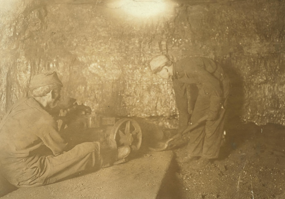 人, 工作, 矿山, 工厂, 工业, 儿童, 复古, 老人, 男人