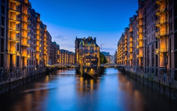 Architecture, ville, paysage urbain, urbain, rue, centre ville, capitale