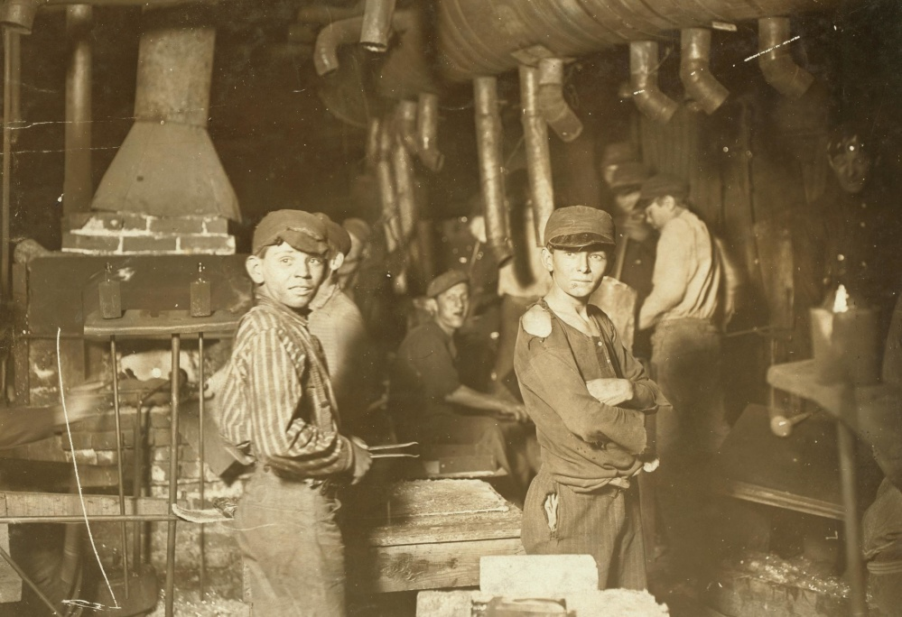 people, child, work, factory, history