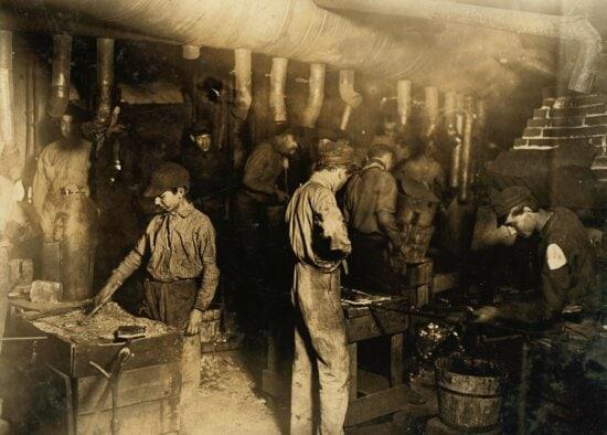people, man, children, work, factory, industry, craft, handmade