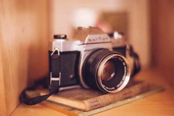 lens, photo camera, zoom, retro, antique, nostalgia