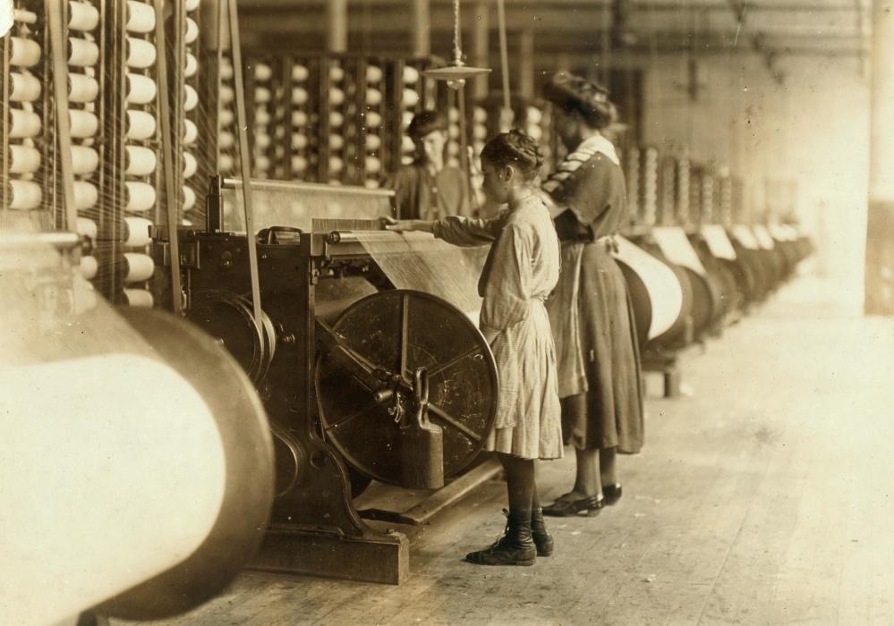 personer, barndom, maskin, facory, anställd, Kvinna, produktion, industri