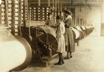 lidé, dětství, stroje, facory, zaměstnanec, Žena, výroba, průmysl