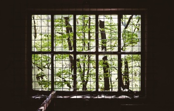 window, old, interior, abandoned, shadow, dark