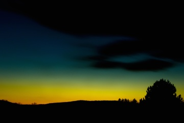 night, sunset, sky, dark, dusk, silhouette, landscape, atmosphere