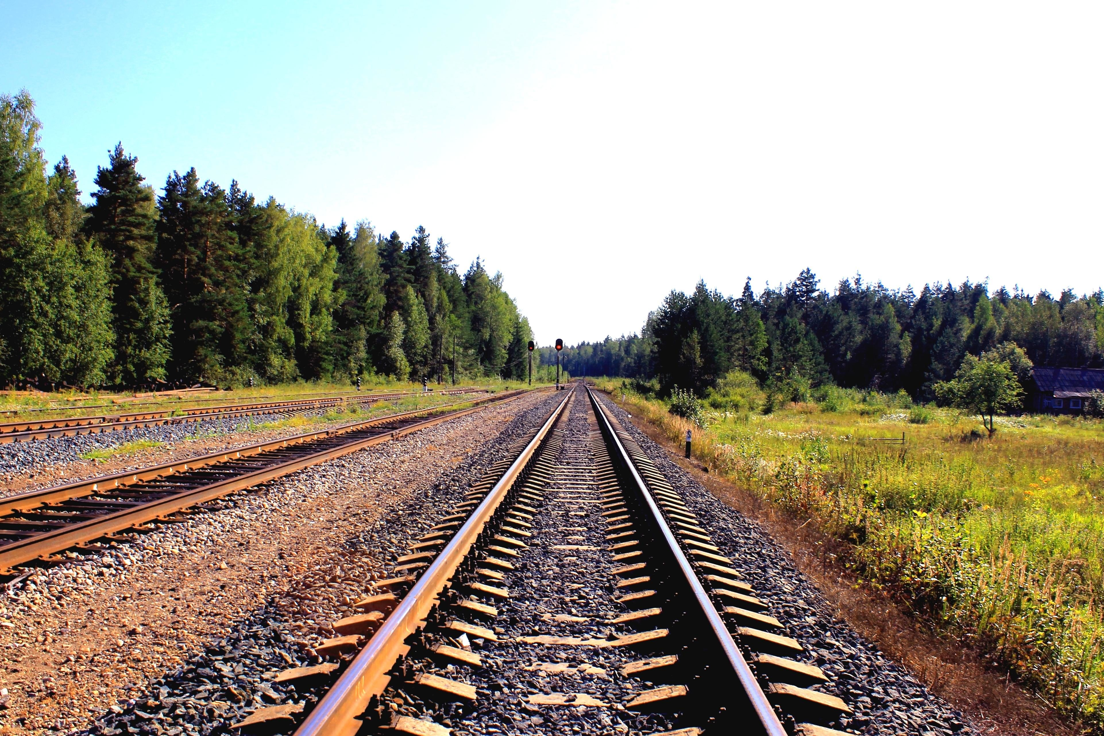 free picture  railway  landscape  iron  road