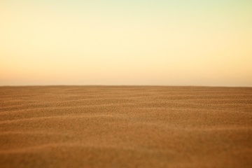 sunset, landscape, sand dune, sand, sky