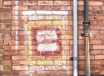 wall, brick, cement, old, architecture, metal, object, exterior