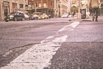 strada, drum, trotuar, oraş, urban, oameni, masina, asfalt
