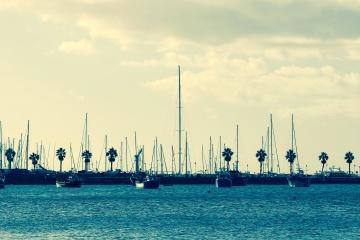 water, sea, ocean, watercraft, marina, boat, dock, harbor, dusk