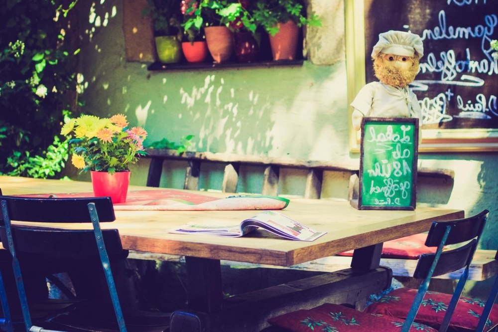 Tisch, Möbel, Sitz, Stuhl, Restaurant