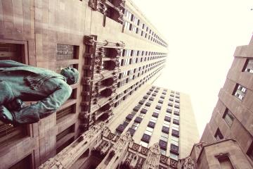 arkitektur, by, statue, kunst, skulptur, bronze, udvendige