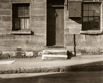 exterior, old, window, door, street, history, old, pavement, asphalt