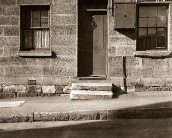 exterior, old, window, door, street, history, old, pavement, asphalt