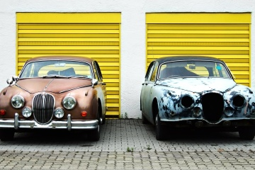auto, auto, automotive, koplamp, oldtimer, garage
