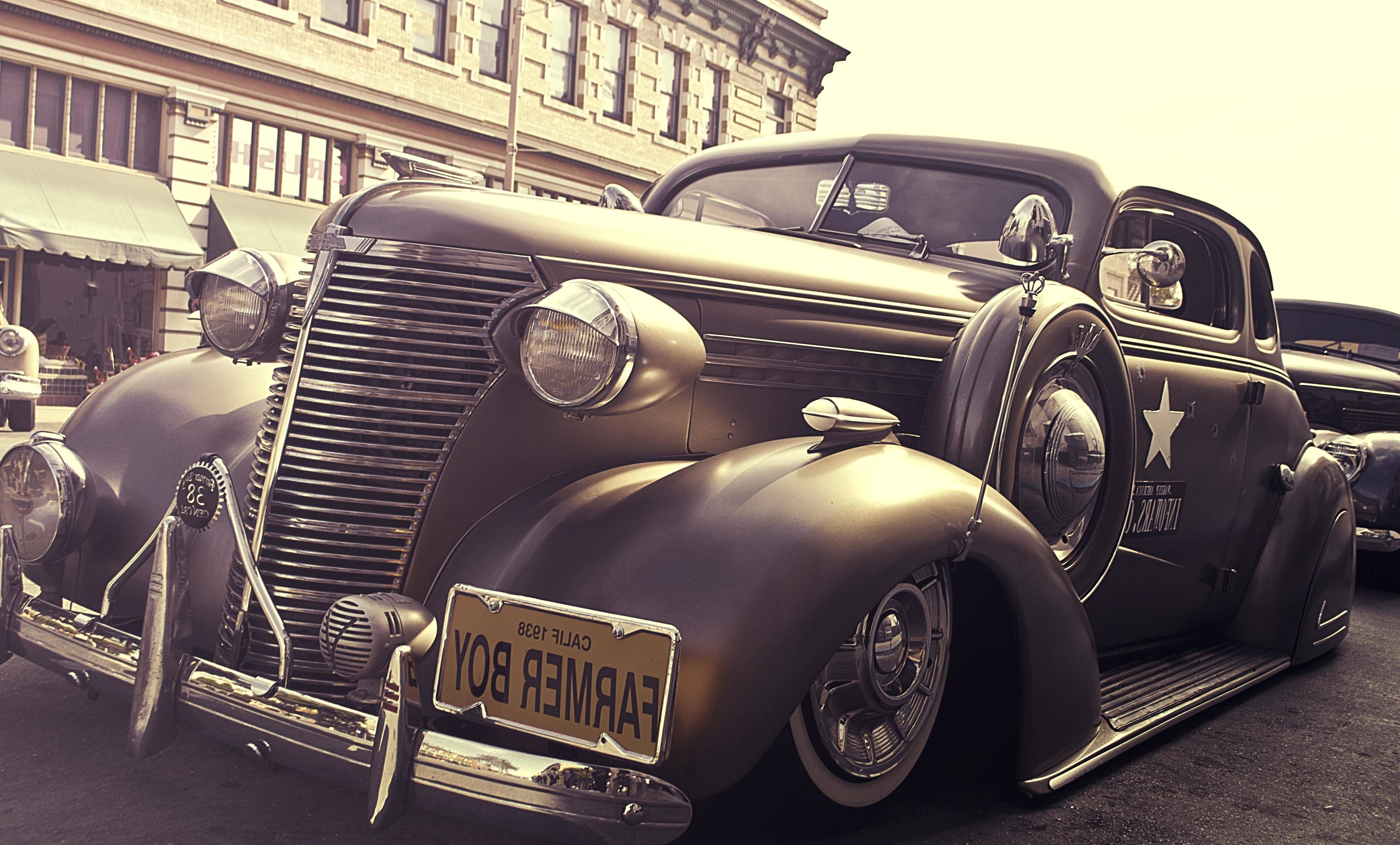 Free picture: car, classic, chrome, history, vehicle, nostalgia ...