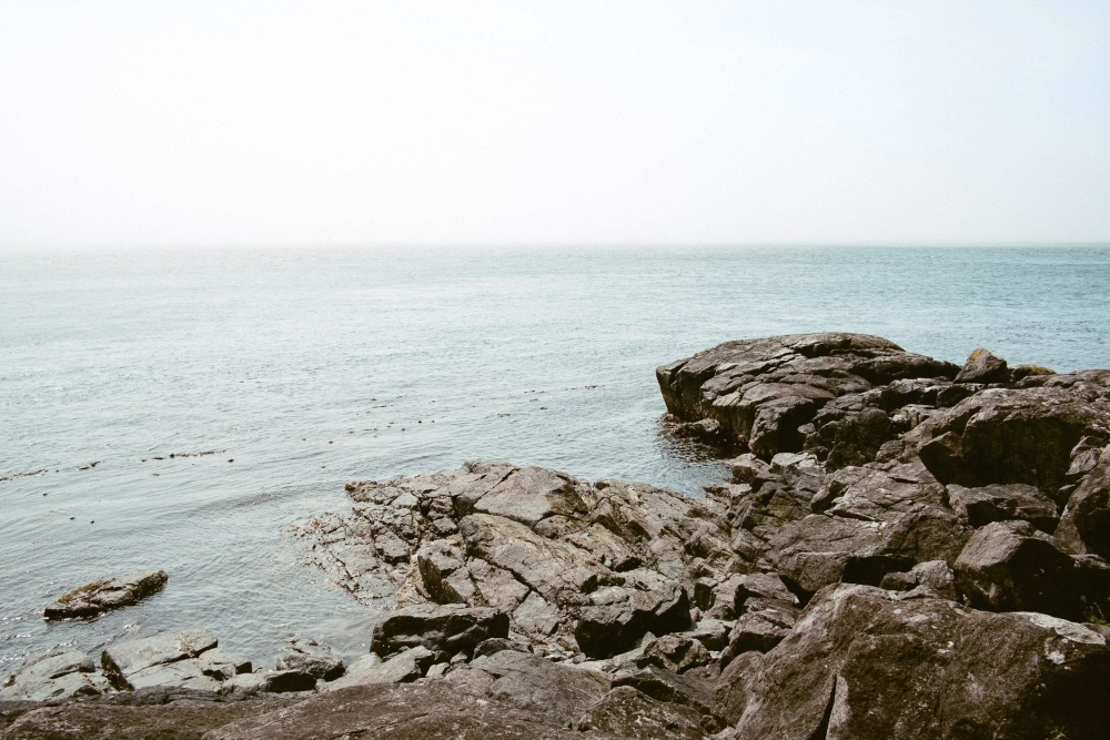 sea, water, beach, seashore, ocean, landscape, sky, coast, shore