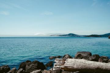 Wasser, meer, küste, strand, ozean, küste, landschaft