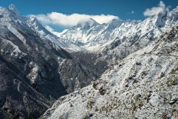 mountain, snow, nature, landscape, glacier, mountain peak