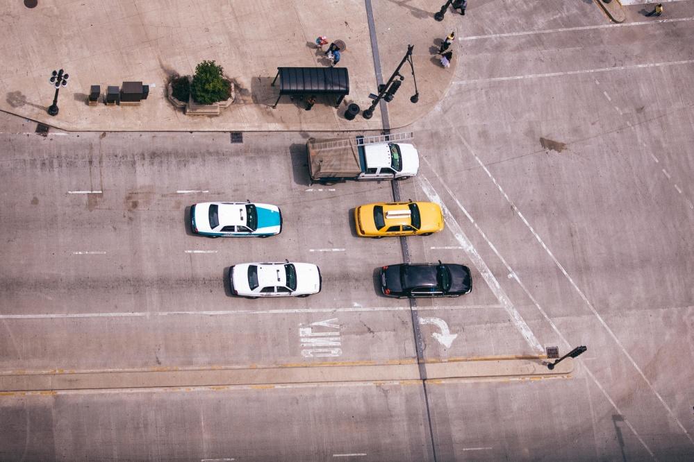 Fahrzeug, Auto, Straße, Asphalt, Stadt, Verkehrskontrolle, Ampel