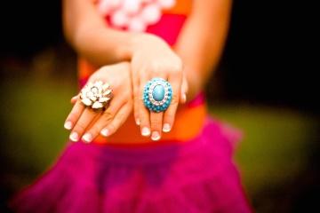 Femme, main, doigt, fille, bijoux, mode, beau, portrait, anneau