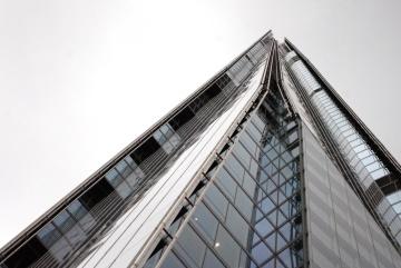 Edificio, torre, alto, ventana, arquitectura, ciudad, moderno, céntrico, urbano