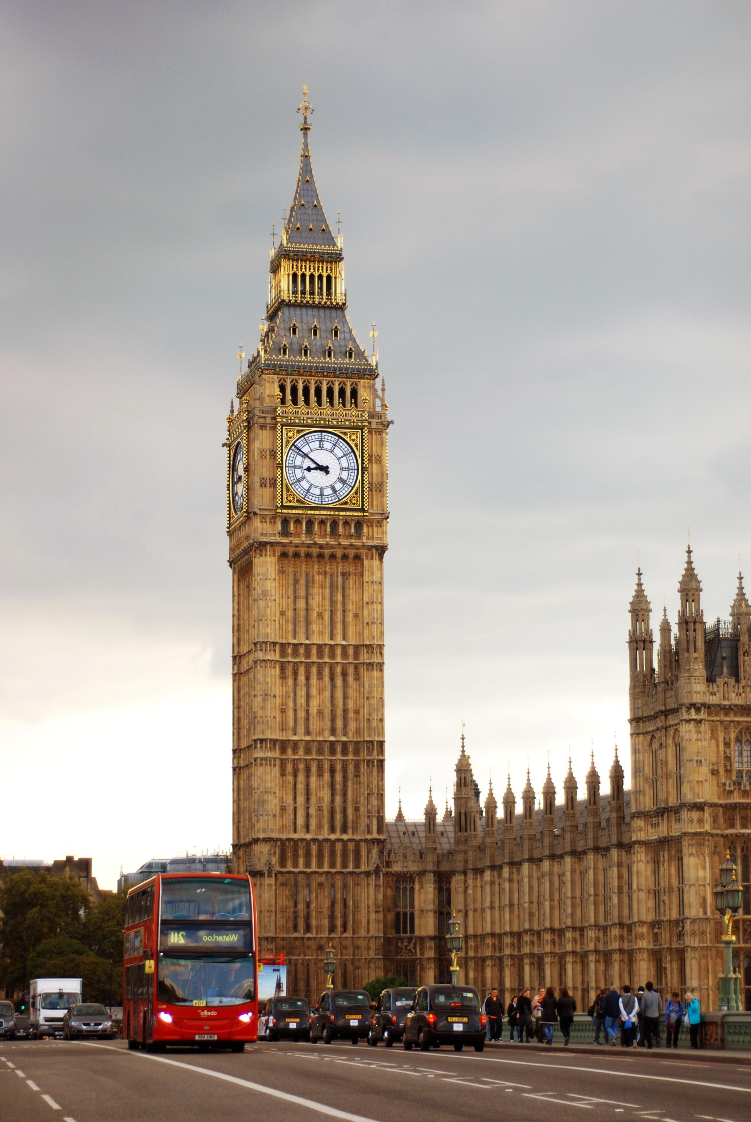 Kostenlose bild uhr london architektur parlament - London architektur ...