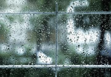 Pioggia, bagnato, finestra, struttura, parete, urbano, gocciolina, umidità, liquido