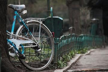koleso, bicyklov, plot, asfalt, street, cestnej