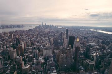 Ciudad, cityscape, arquitectura, céntrico, urbano, metrópoli, edificio