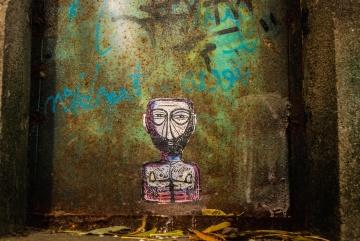Mur, vieux, art, sale, graffiti, abandonné, rétro, architecture, décoration, urbain, grunge