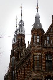 Architecture, vieux, ville, ciel, tour, château, repère, extérieur, façade