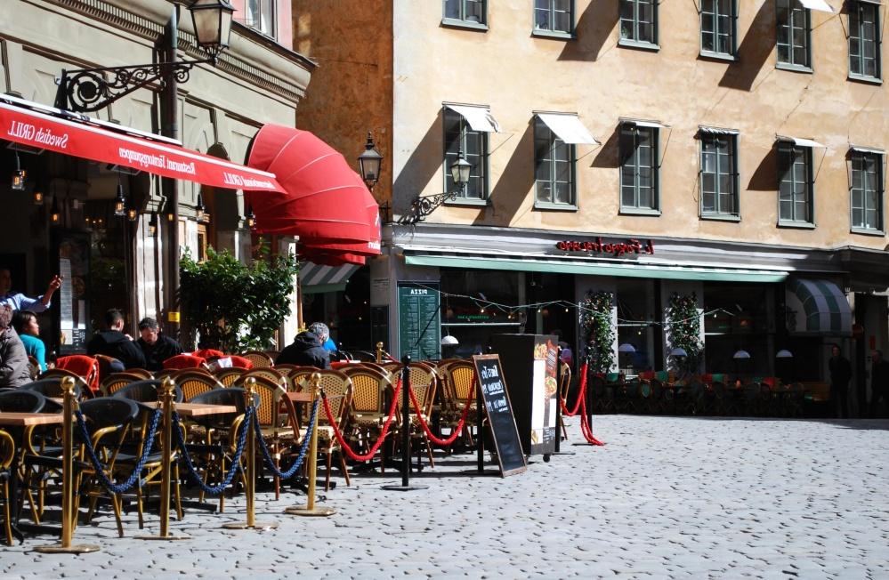Calle, ciudad, pueblo, gente, urbano, arquitectura, pavimento, turista, camino, restaurante, luz del día