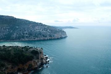 Île, eau, bord de la mer, mer, paysage, océan, plage, côte, île