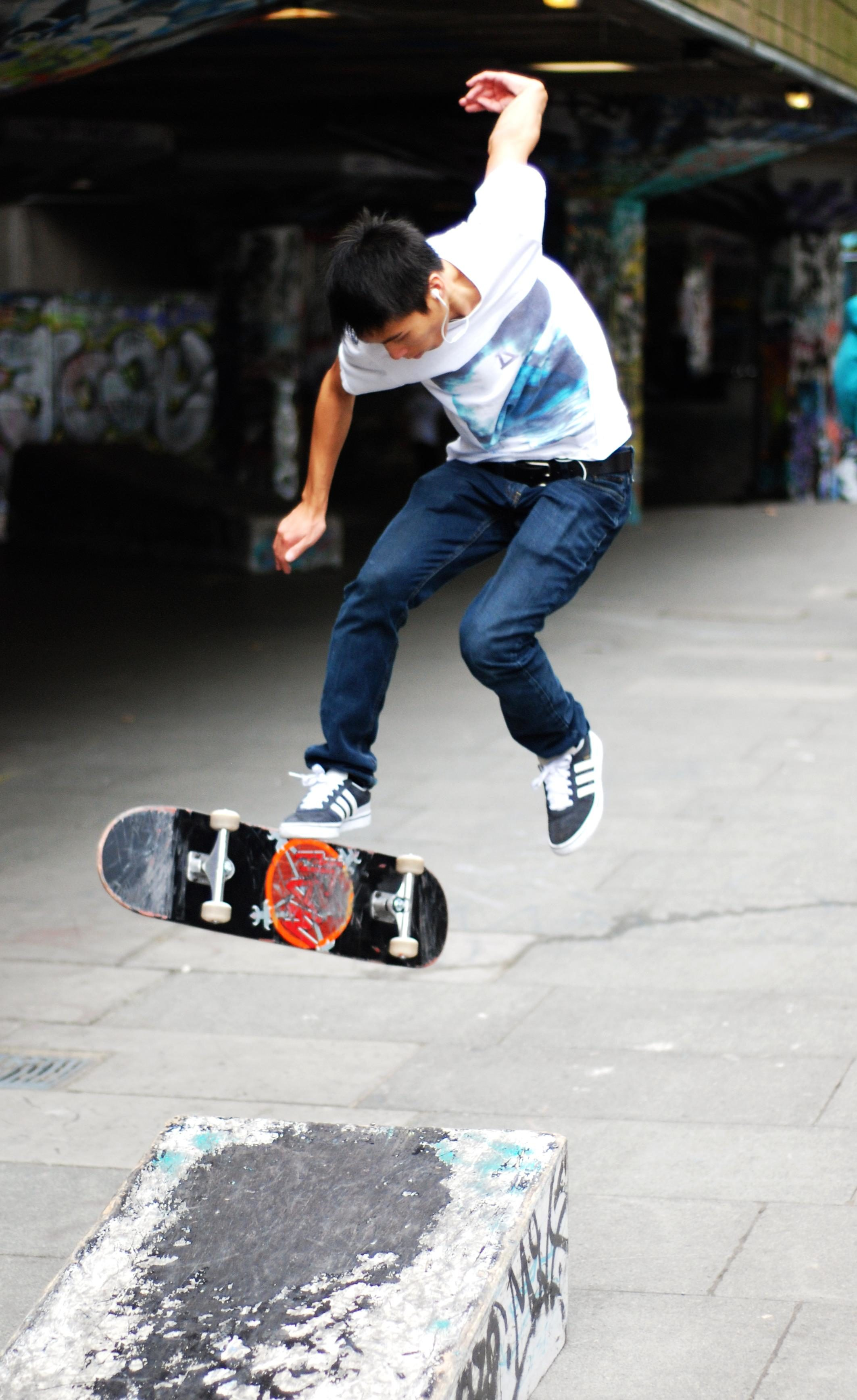 Free Picture Skateboard Fun Sport Man Competition