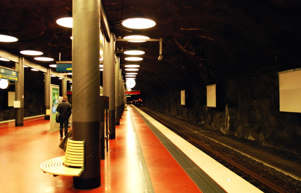interior, light, tunnel, train stration, metro, underground, urban