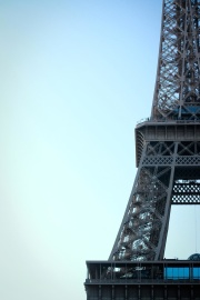 sky, architecture, steel, tower, iron, city, construction, France, Paris