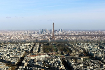 Paris, France, downtown, tower, metropolis, architecture, city, cityscape, urban
