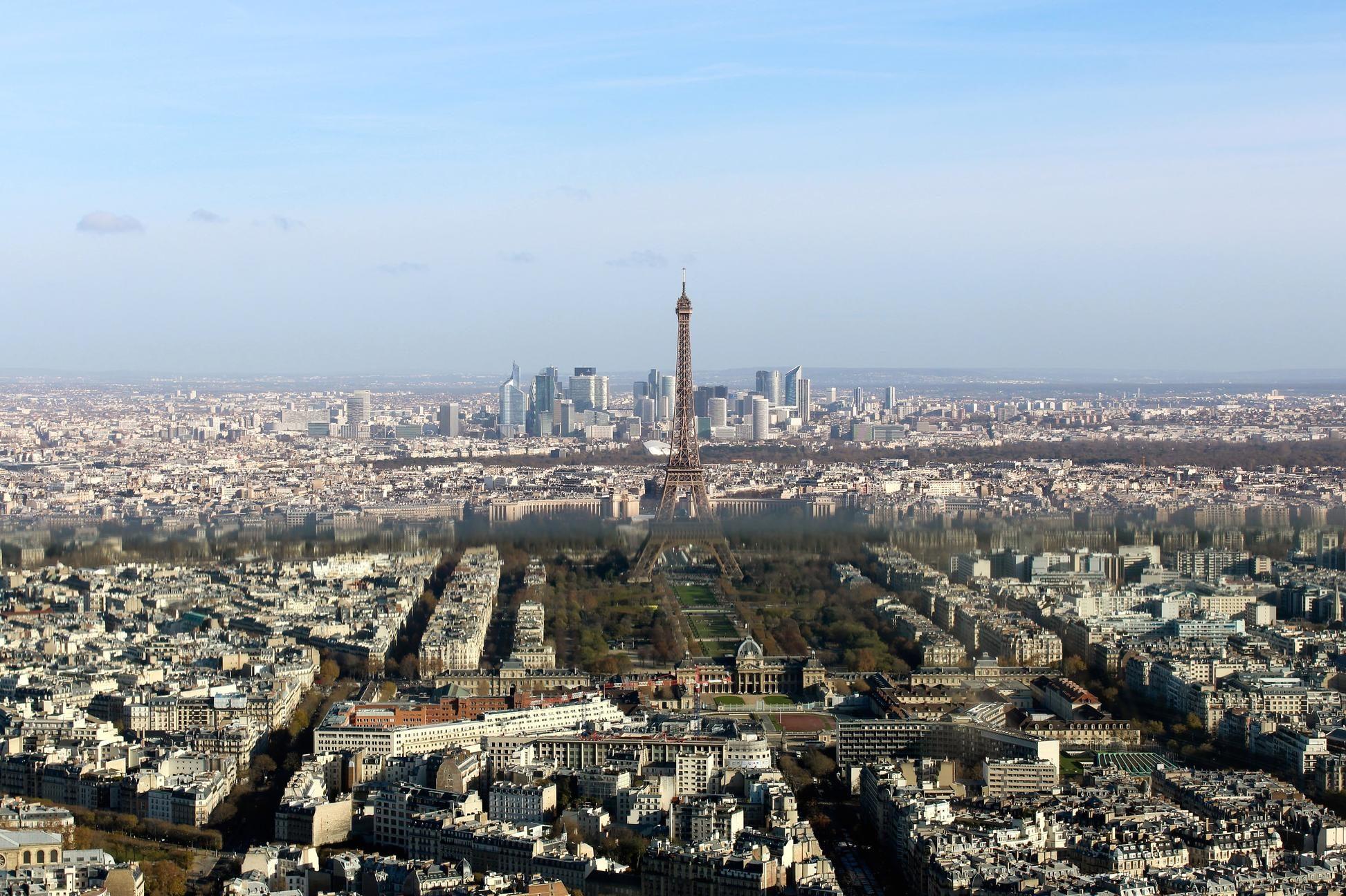 Image libre paris france centre ville tour m tropole for Paris paysage
