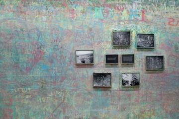 sztuka, ściany, wnętrza, obraz kolorowy, graffiti, ozdoba