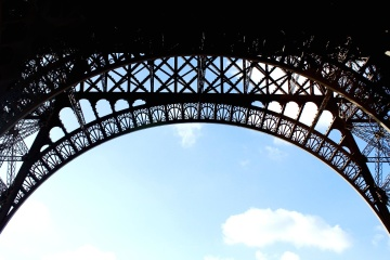 architecture, France, tower, downtown, iron, steel, construction, arch, structure