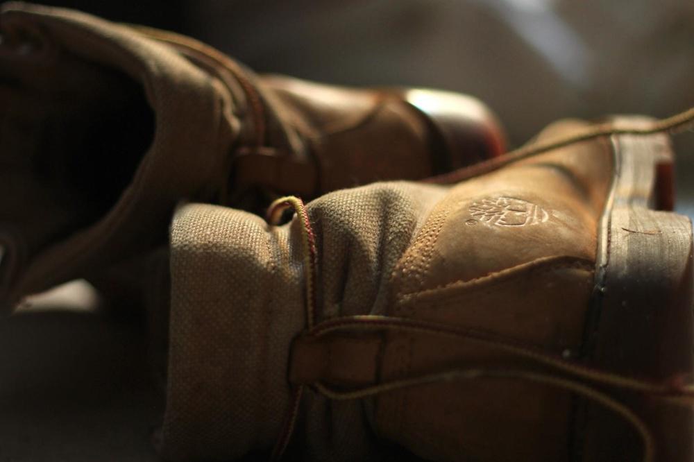 obuv, kožené, Čistenie, motúz, topánka, móda, tmavé
