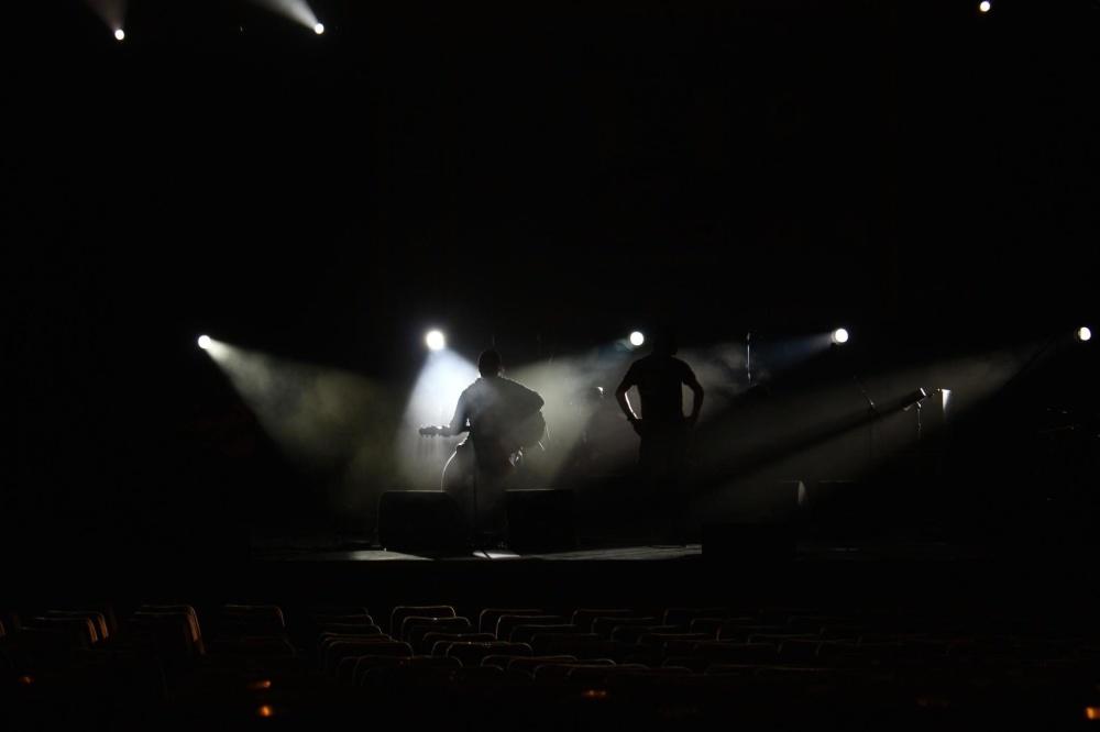 dark, music, sound, crowd, light, monochrome, concert