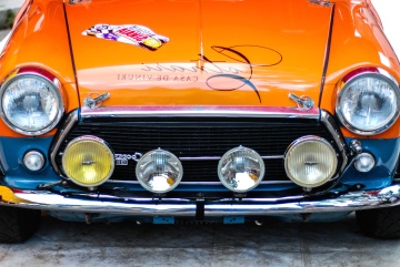 car, vehicle, drive, headlight, chrome, hood, bumper, speed, classic